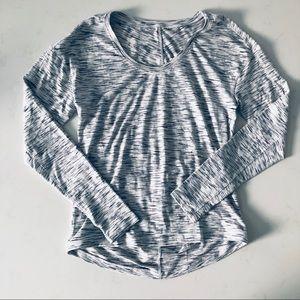 Lululemon light grey long sleeves top 6